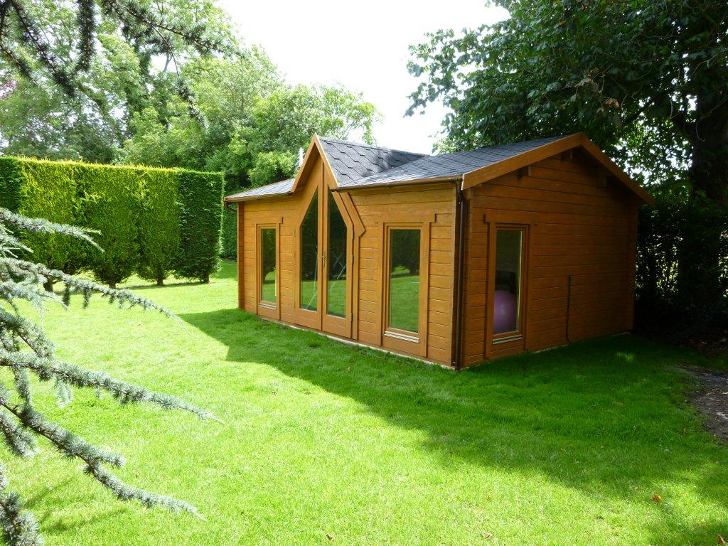 A adir bonitas habitaciones a su casa con caba as de - Casas de madera bonitas ...