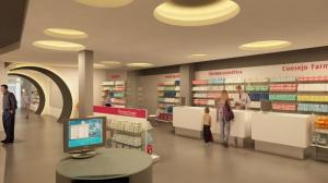 Cómo debe ser un Mobiliario de farmacia
