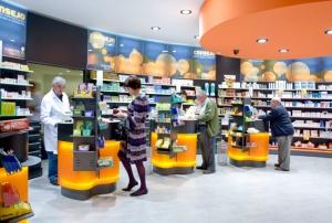 El Mobiliario de farmacia debe ser una ayuda al cliente